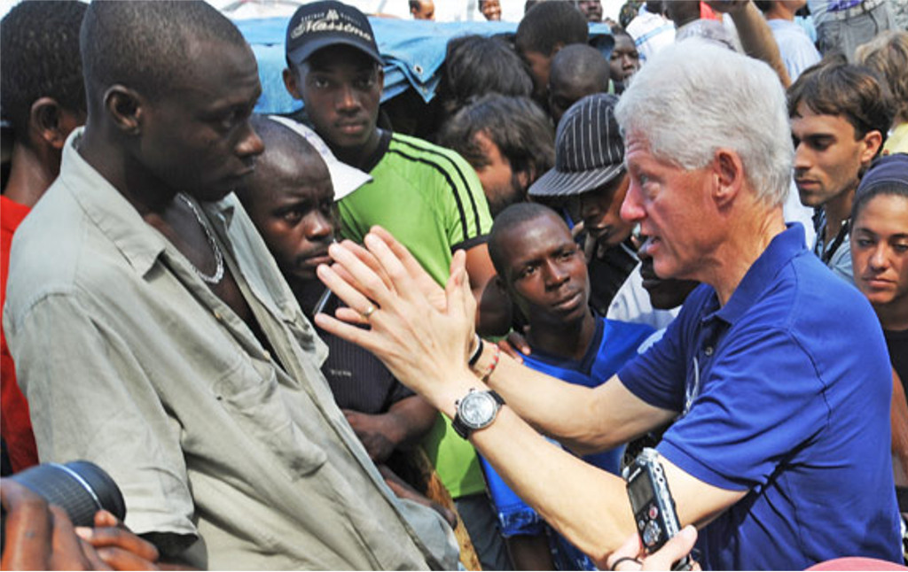 What The Clintons Did To Haiti