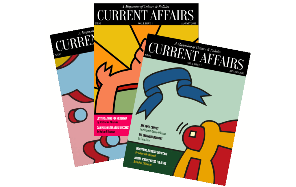 What People Are Saying About Current Affairs