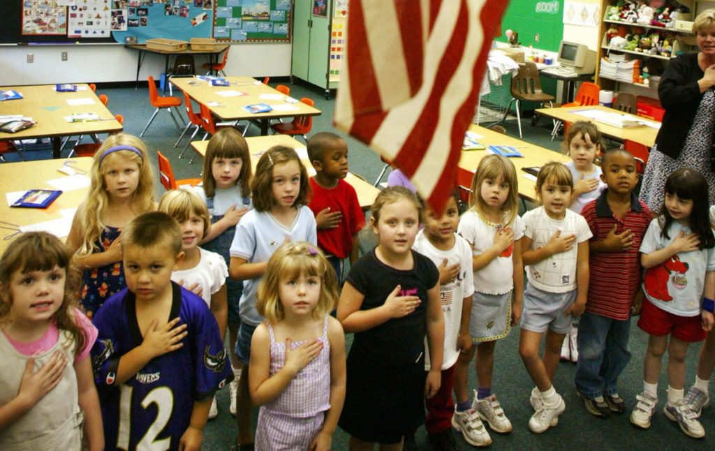 I Can't Believe They Still Make Students Recite The Pledge