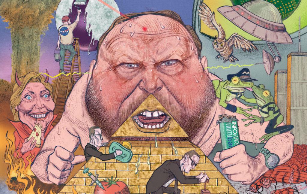 The Terrifying World Of Alex Jones | Current Affairs